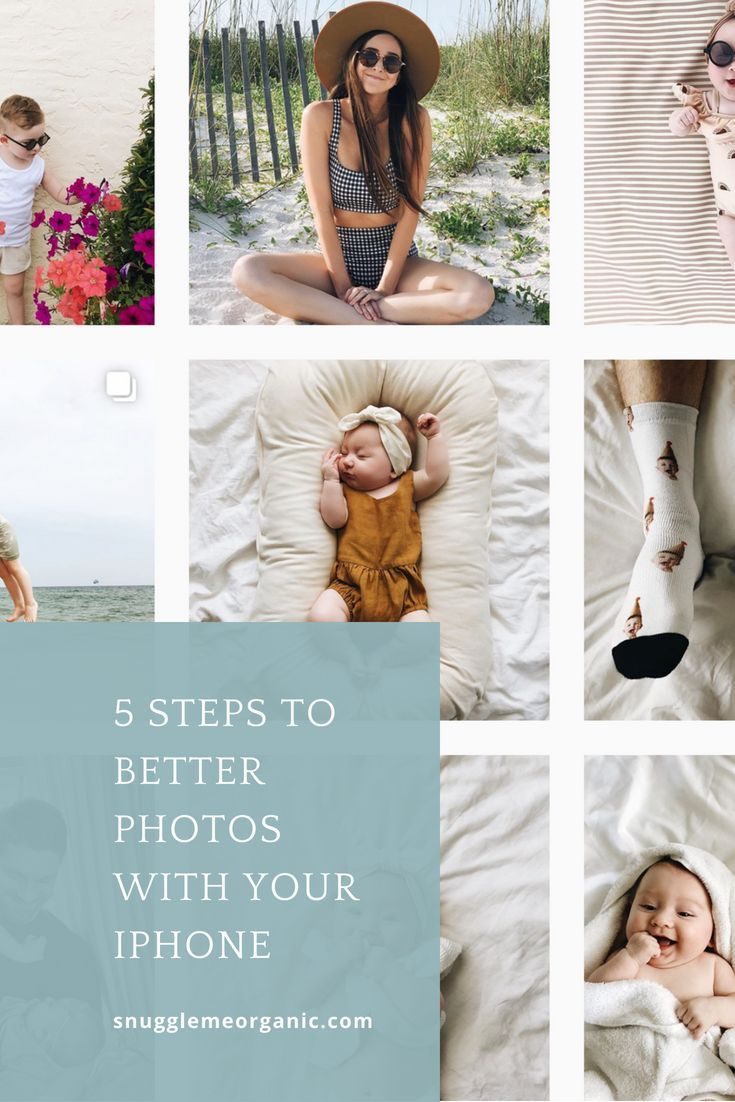 Taking Better iPhone Photos | Photo tips, Baby photos ...