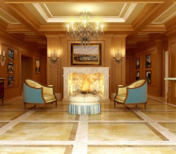 Elegant Mansion Foyers: Super Luxury Elegant Modern Elite