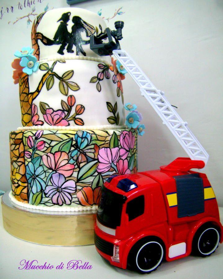 Love on Fire - Cake by Mucchio di Bella