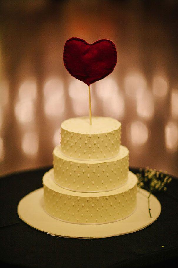 KAMAIA + MATTHEW // Wedding cake. #topper #diy #wedding #dessert ...
