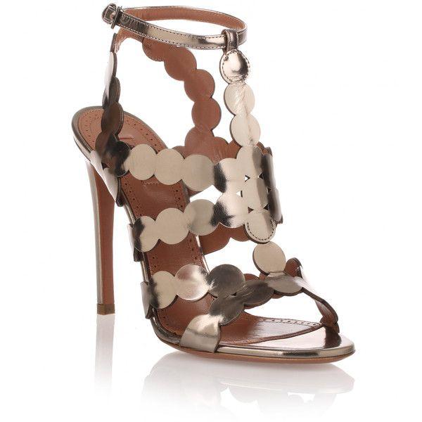 high heel sandals, Silver high heel shoes