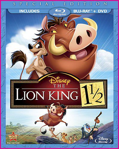 Day 28: Favorite sequel- The Lion King 1 1/2