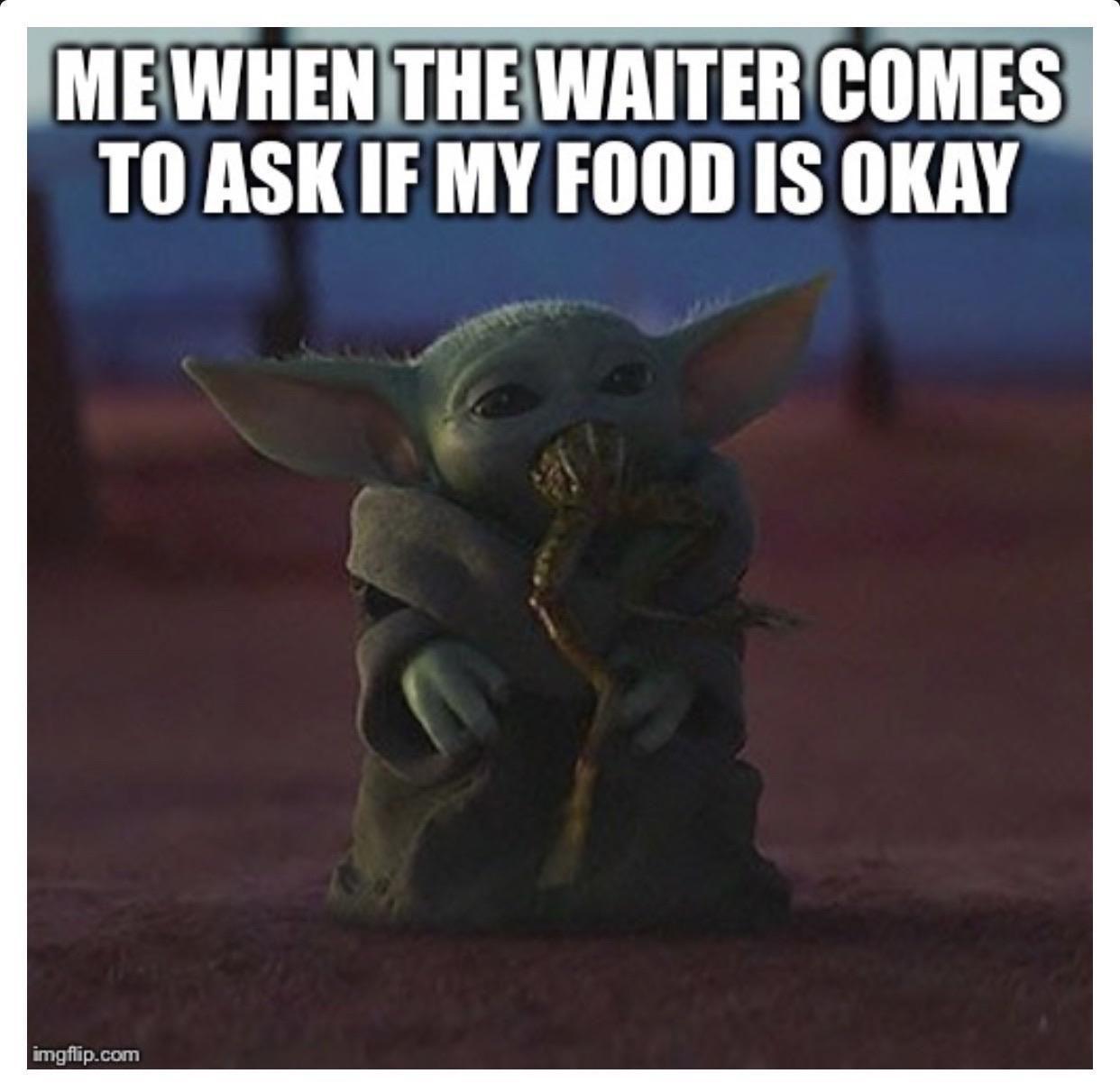Every Single Time R Babyyoda Baby Yoda Grogu Yoda Funny Funny Star Wars Memes Yoda Meme
