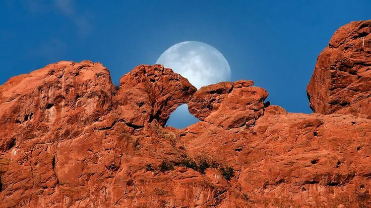 garden of the gods in colorado, kissing camels , Google