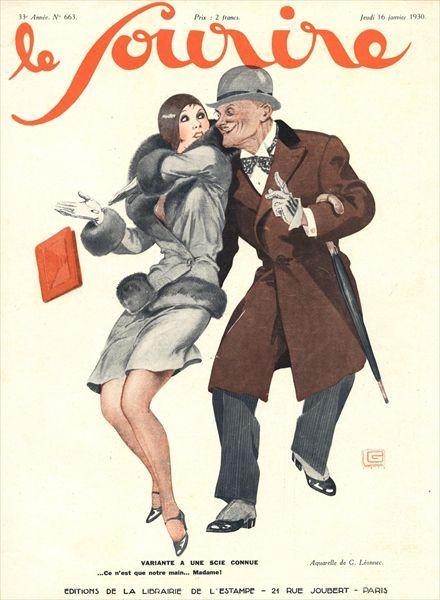 Le Sourire, 1930 ~ Georges Leonnec