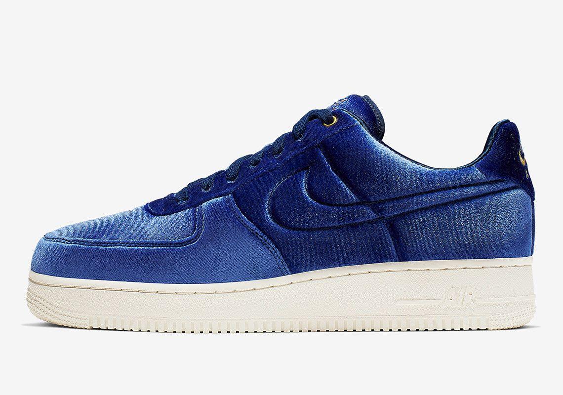 Nike Air Force 1 Premium Velour Release Info | Nike air force ...