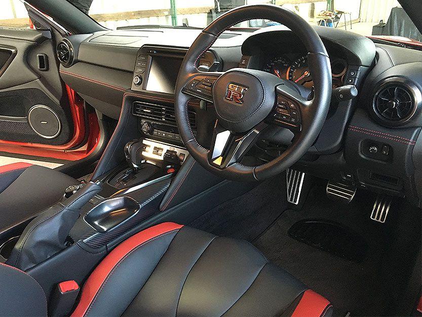 2017 Nissan GTR Track Edition Interior Nissan gtr, Gtr
