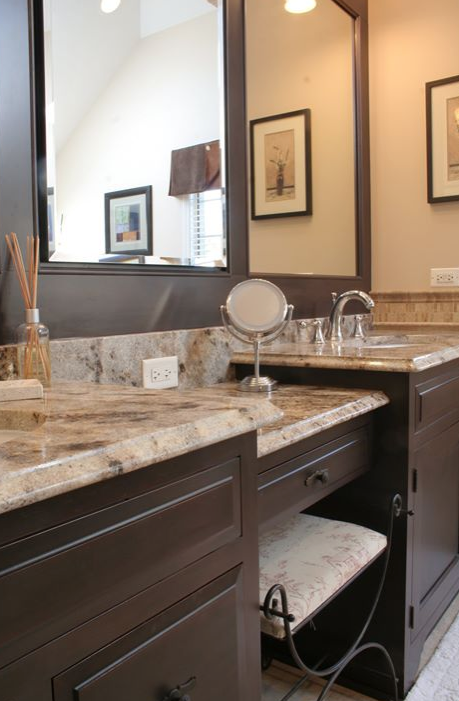 batroom vanity tops dark cabients light dark countertop granite rh pinterest com