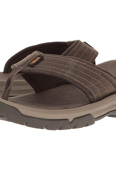 Teva Langdon Flip (Walnut) Men's Sandals - Teva, Langdon Flip, 1015151-WAL, Footwear Open Casual Sandal, Casual Sandal, Open Footwear, Footwear, Shoes, Gift, - Fashion Ideas To Inspire