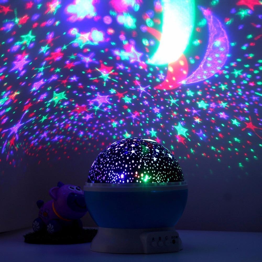 Romantic Rotating Night Light Night light projector
