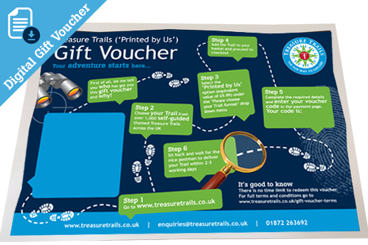 £11.48 Printed Gift Voucher for a Printed and Posted