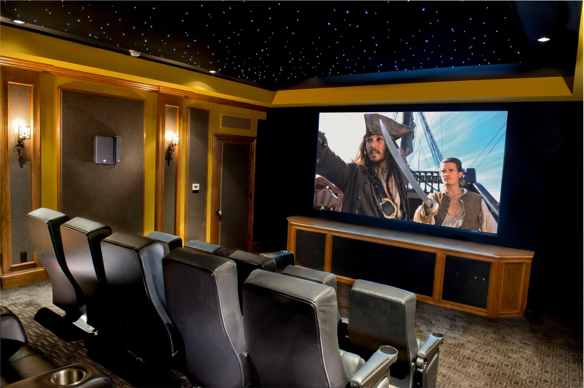 Good Custom Home Theater Design Build Installation Los Angeles | Monaco .