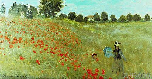 Claude Monet Die Mohnblumen Claude Monet Monet Pintores