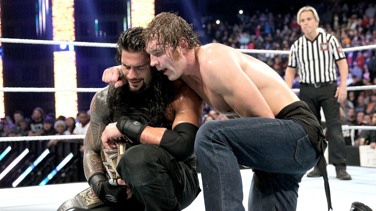Image result for roman reigns dean ambrose survivor series