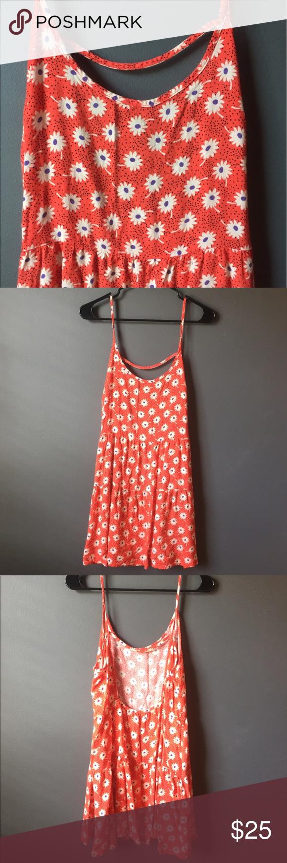 Lush sundress Super cute sundress with flowers🌸 size medium 100% rayon Lush Dresses Mini