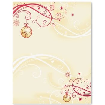 Cranberry Lace Specialty Border Papers Envelopes