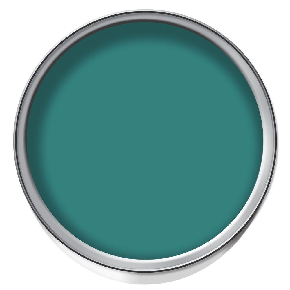 dulux feature wall matt emulsion paint proud peacock 1. Black Bedroom Furniture Sets. Home Design Ideas