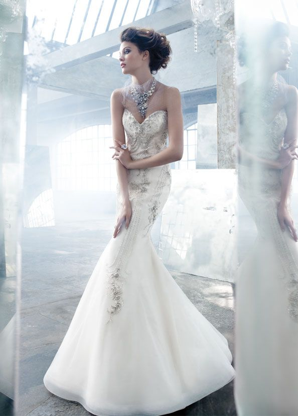lazaro-bridal-tulle-jeweled-art-deco-trumpet-gown-sweetheart ...