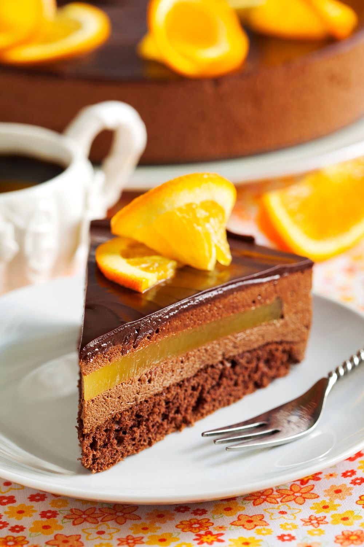 Orange Chocolate Mousse Cake By Anjelika Gretskaia On 500px Gateaux Et Desserts Recette Gateau Chocolat Recette Dessert