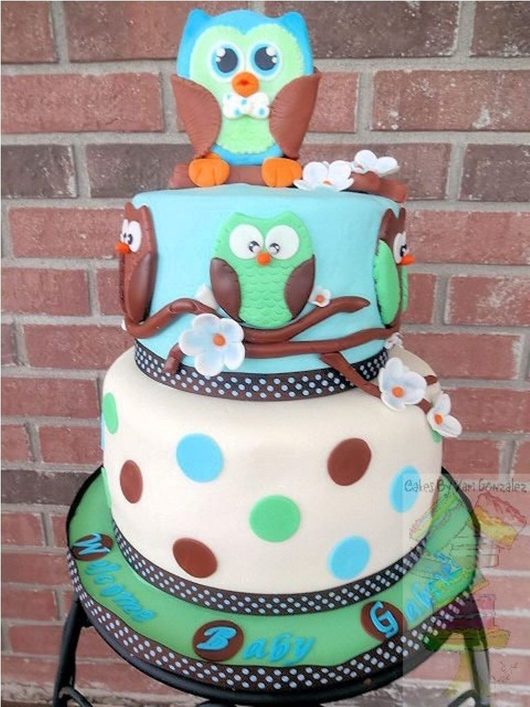 owl baby shower cake ideas and images sarah cake design sarah