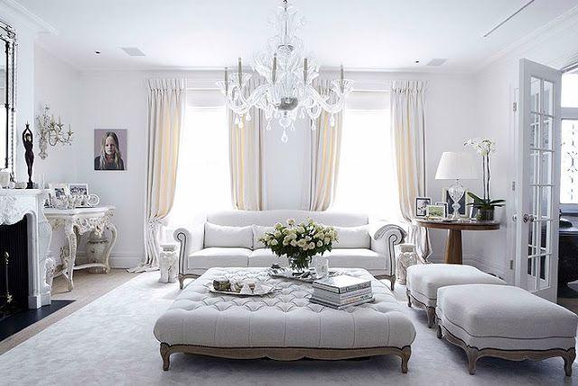noir blanc un style - Rideaux Pour Salon Noir Blanc