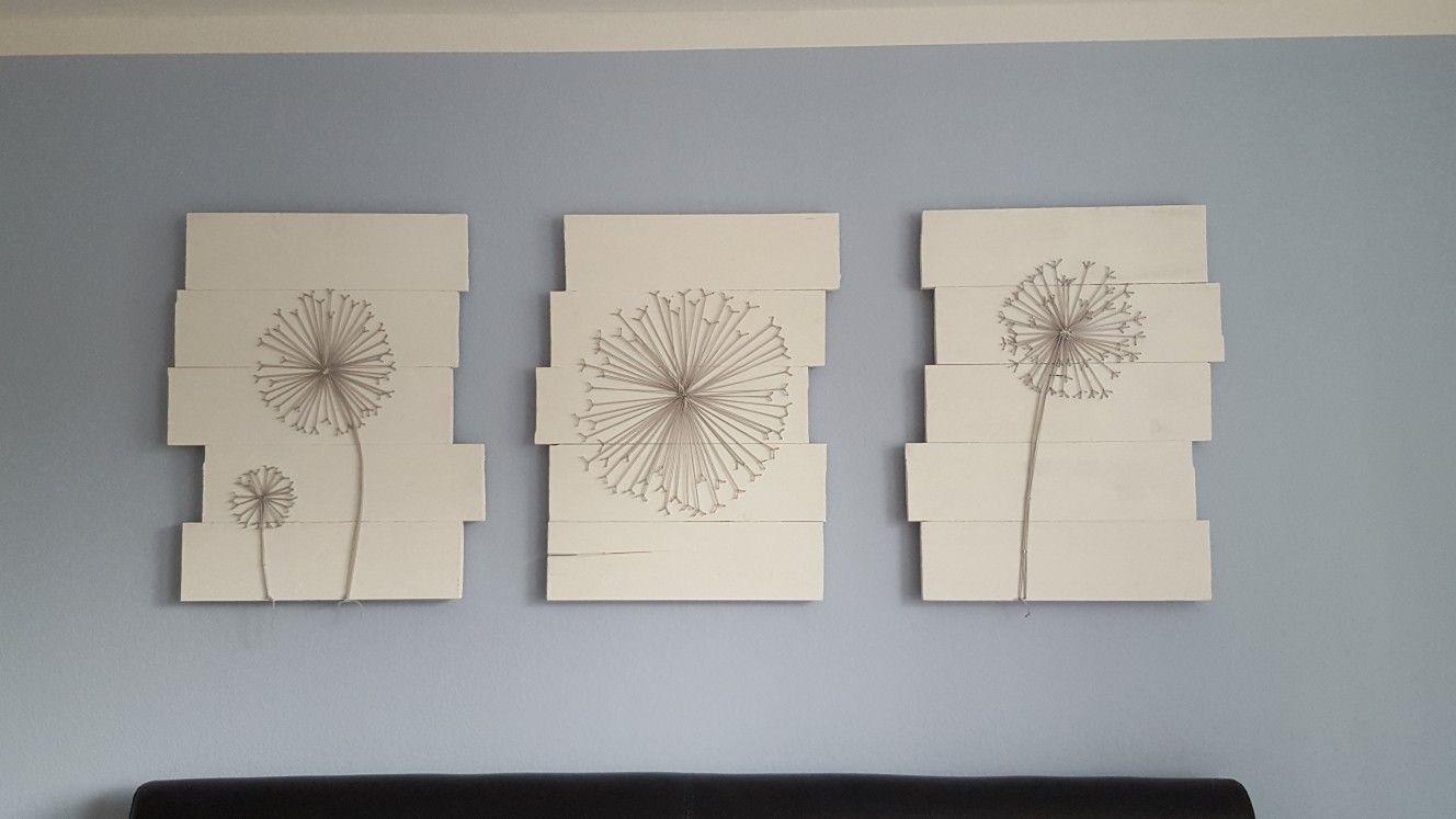 Nagelkunst Fadendesign Pusteblume String Art Design | kreativ ...