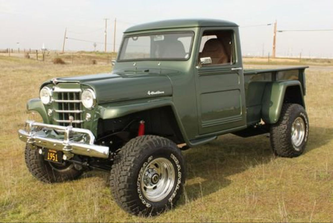 1951 Willys Truck Jeep In 2018 Pinterest Trucks And Cars 1941 Pickup