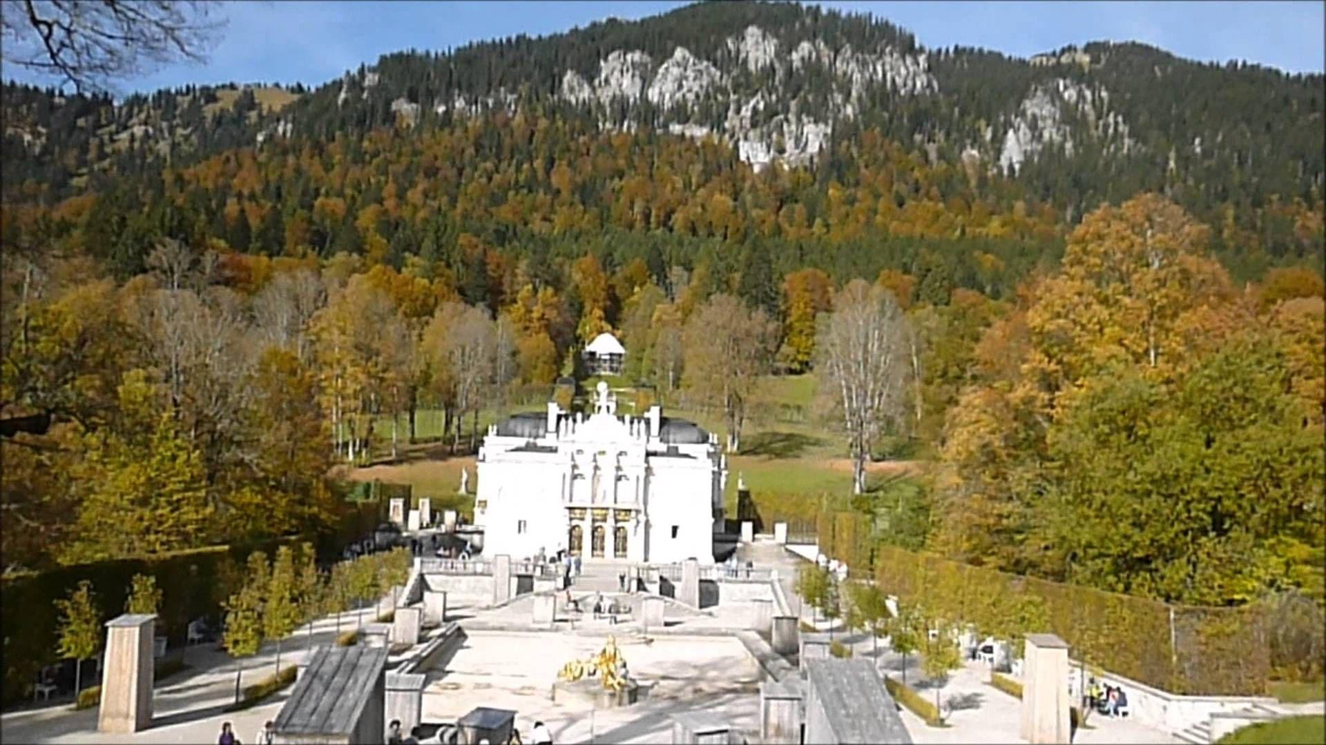 Oberammergau And Linderhof Castle Oberammergau Castle Germany