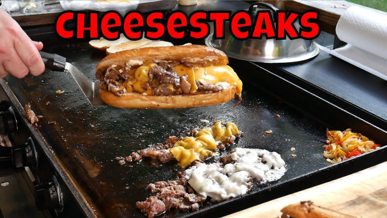 Cheesesteaks on the blackstone griddle griddle recipes