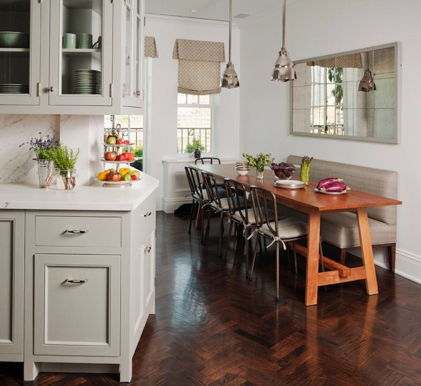 15 Small Dining Room Table Ideas Tips: Narrow Dining Tables For Small Elegant Spaces