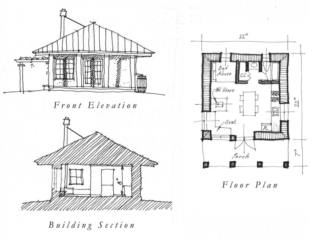 High Quality One Room House Plans : Free Plan. Part 12