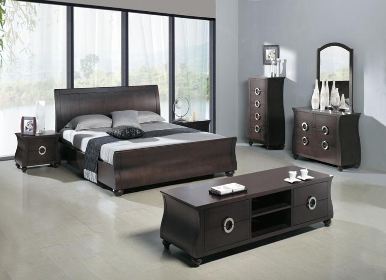 Muebles dormitorio de estilo moderno - 25 ideas | Conjuntos de ...