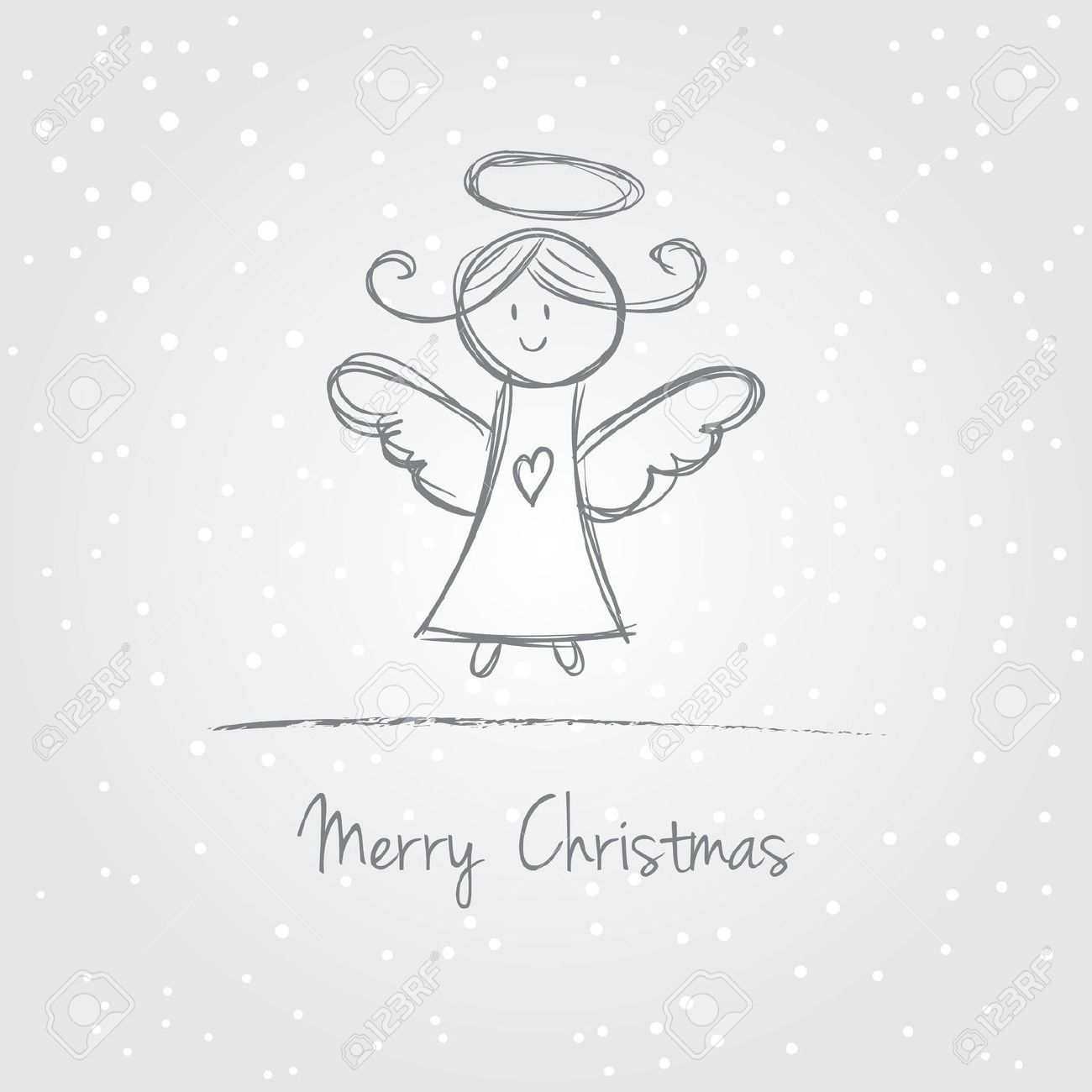 Simple Illustration Of Angels Google Search Weihnachten