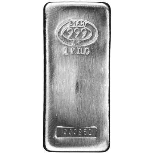 1 Kilo Asahi Silver Bar New Slc Serials 1 1000 Silver Bars Silver Stuff To Buy