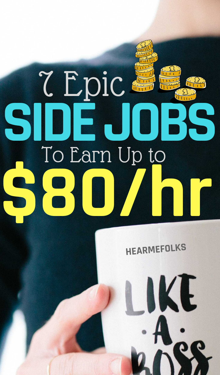 7 Epic Side Jobs that Make Most Money in 2019 | Finanzas