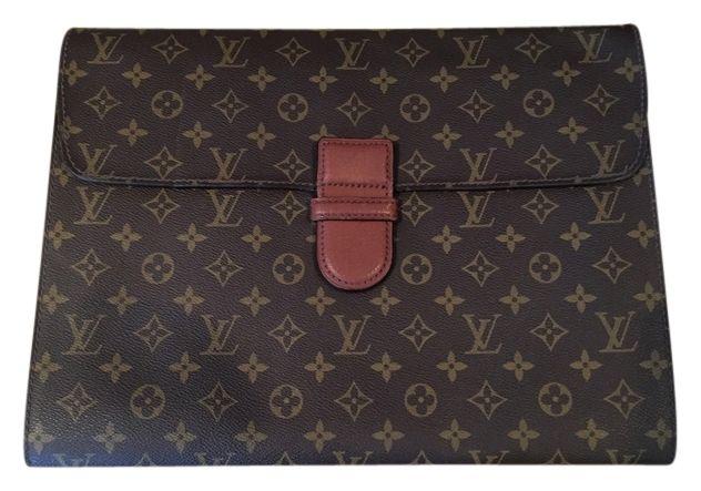 Louis Vuitton Portfolio Vintage Envelope Portfolio Briefcase Lv Monogram Canvas Weekend Travel Bag Monogram Travel Bag Monogram Lv Monogram