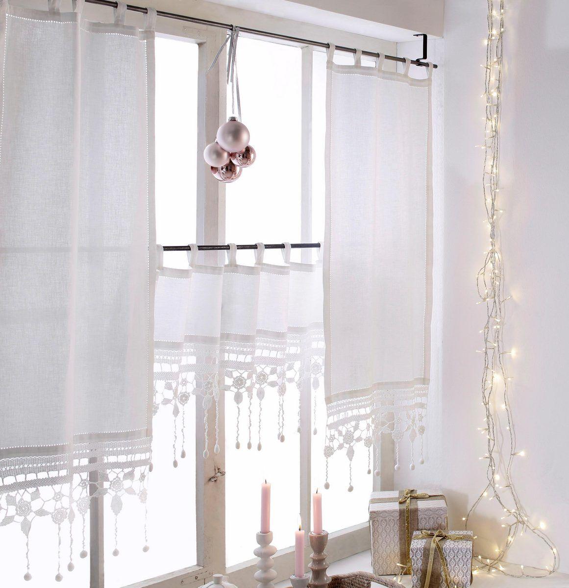 Scheibengardine Grossglockner Hossner Art Of Home Deco