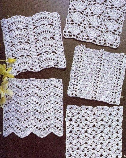 Узоры крючком со схемами | bu | Pinterest | Crochet, Thread crochet ...