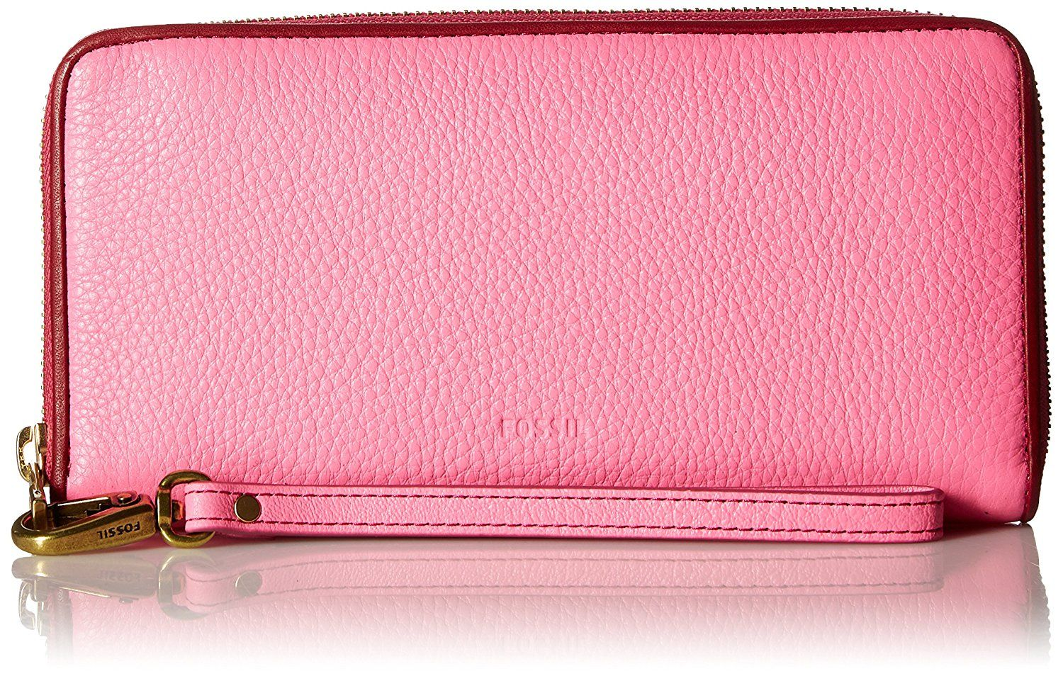 Fossil Emma Large Zip Wallet >>> You can get more details
