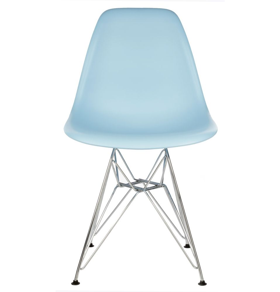 replica eames dsr side chair in plastic by charles and ray eames
