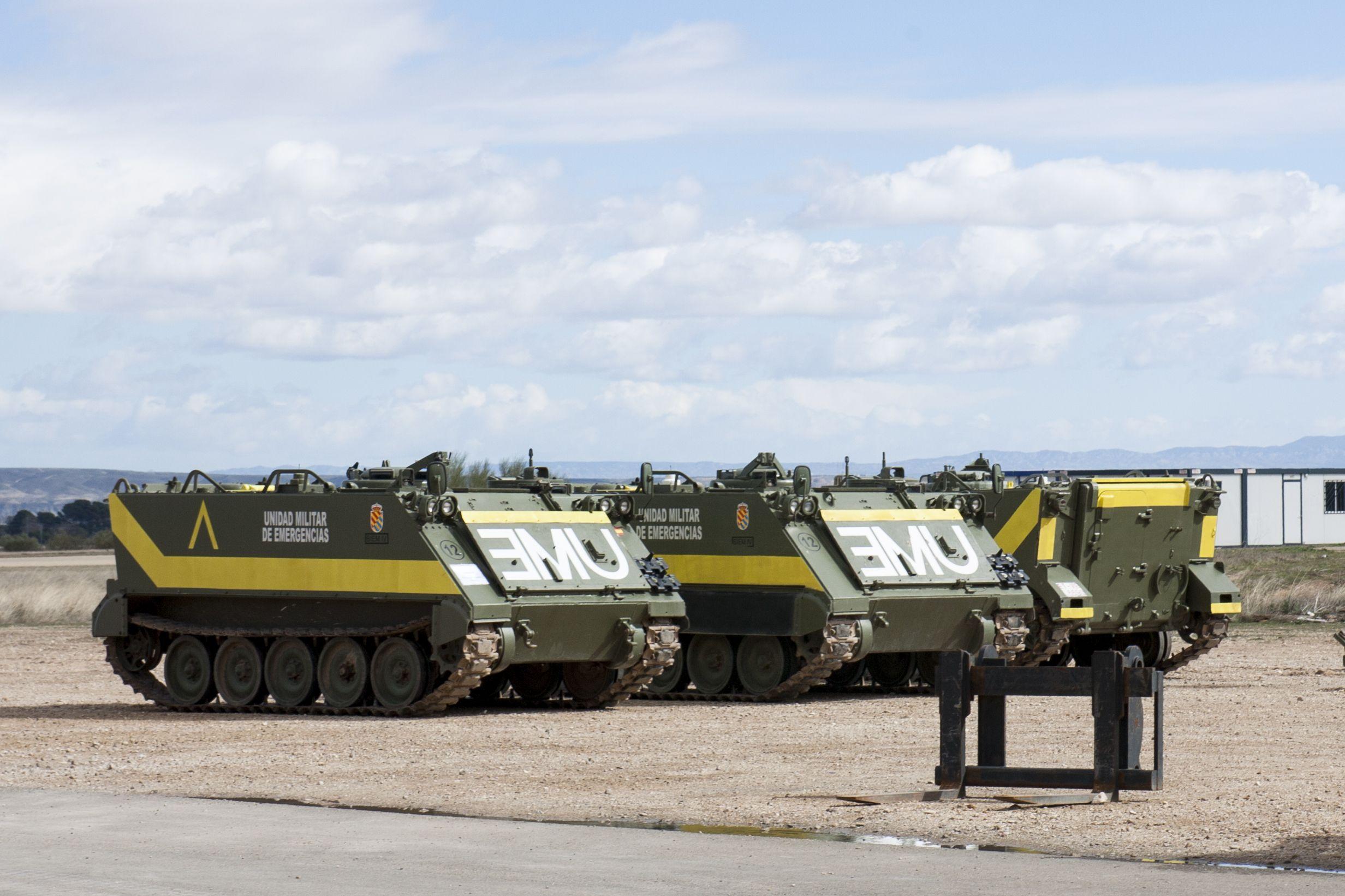 Resultado de imagen para Unidad Militar de Emergencias (UME)