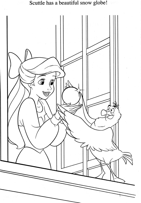 Coloriage La Petite Sirene Disney Coloring Pages Ariel Coloring Pages Princess Coloring Pages [ 1527 x 1056 Pixel ]