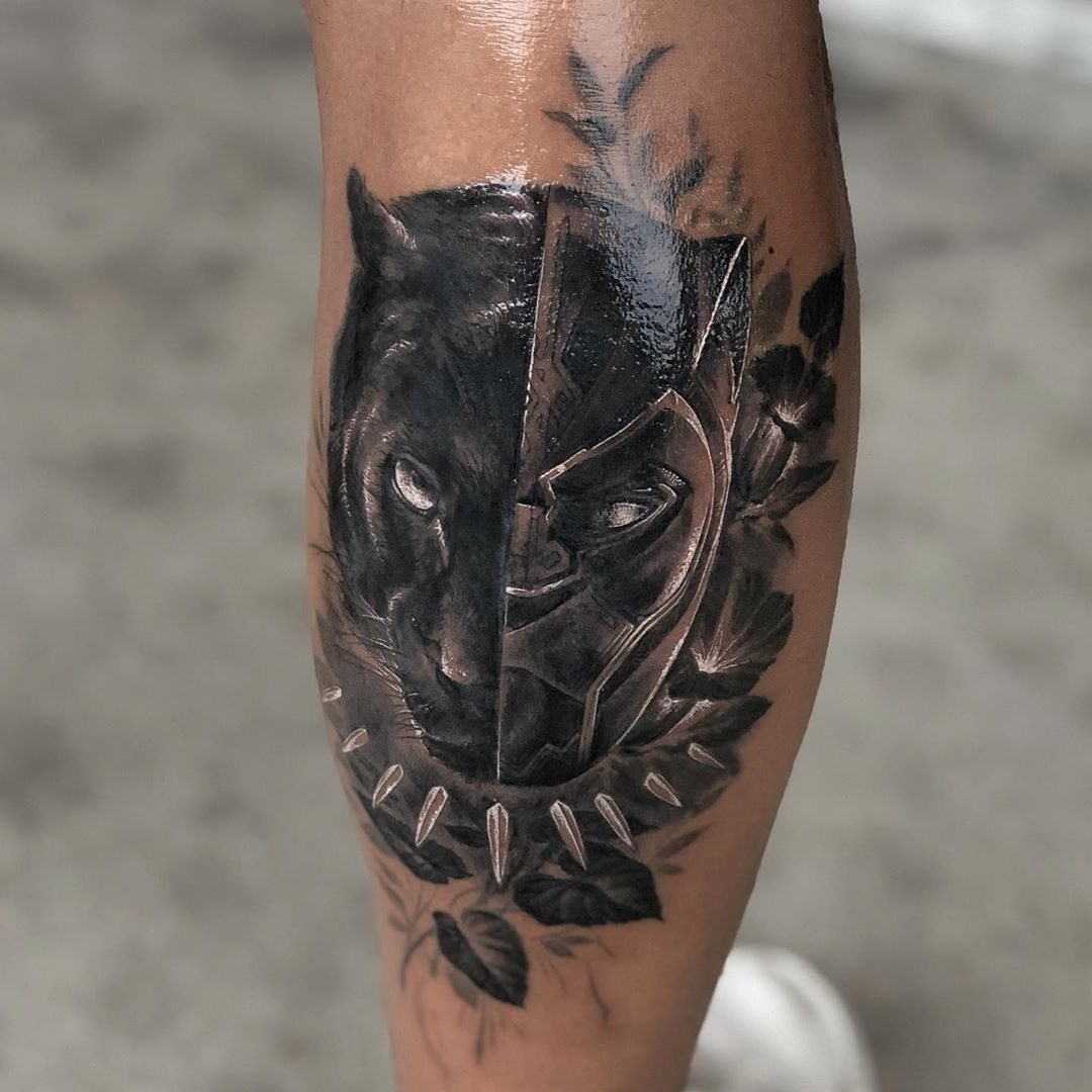 Updated 19 Proud Black Panther Tattoos November 2020 In 2020 Panther Tattoo Black Panther Tattoo Tattoos For Guys
