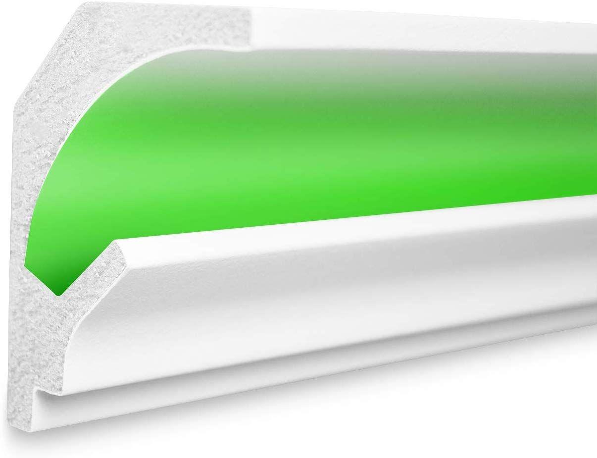 1 15 M Led Profil Xps Indirekte Beleuchtung Trockenbau Lichtundurchlassig Rigips Tesori 115x90mm Kd201 Amazon De Baumarkt En 2020 Amazone