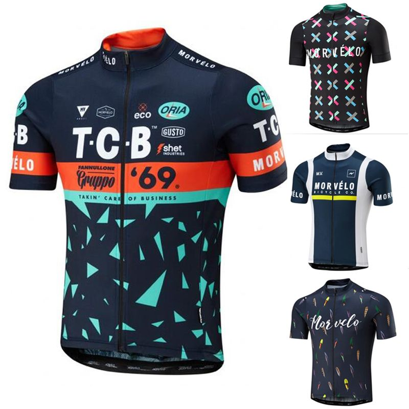 d18568931 Top quality morvelo 2017 brand team bike clothes short sleeve cycling wear  for men PRINT