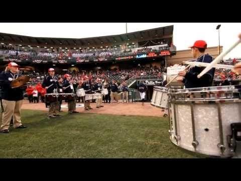 YEA! Presents the Designated Hitters Drumline - YouTube