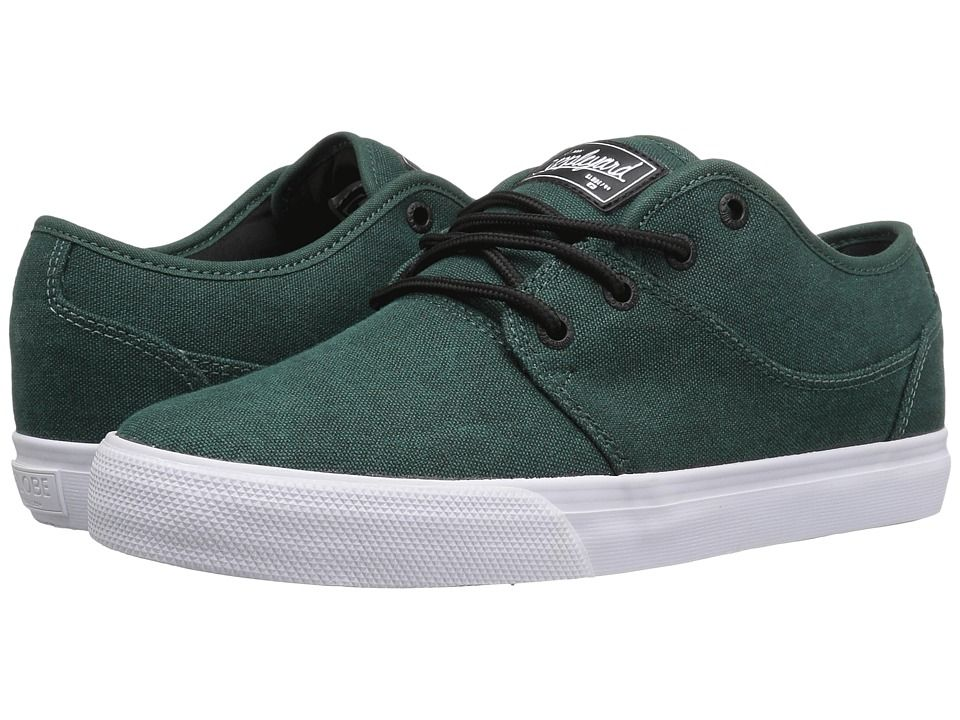 GLOBE GLOBE - MAHALO (STONEWASHED GREEN) MEN'S SKATE SHOES. #globe #shoes