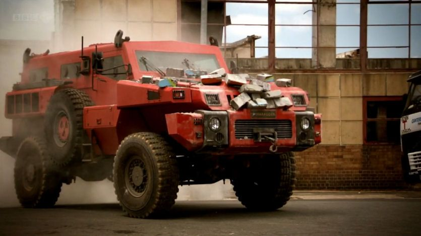 A South African Engineered Vehicle! The Marauder! 10tonnes of South ...