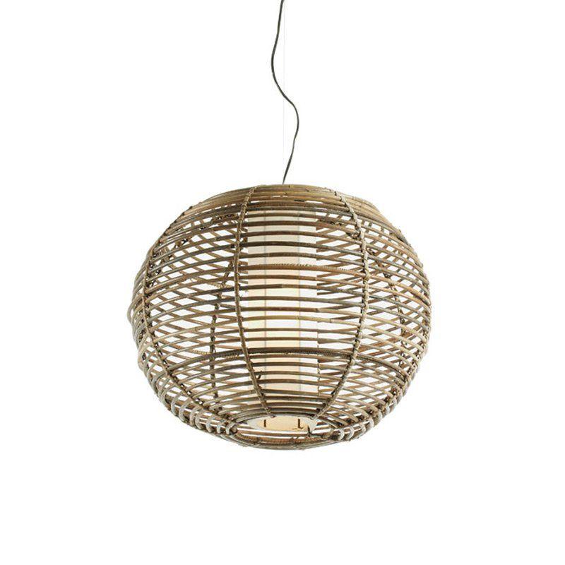 hanglamp laforma sutec rotan hanglamp in retro design rotan