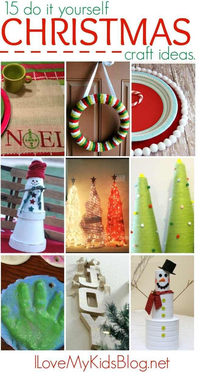 15 do it yourself christmas craft ideas craft holidays and 15 do it yourself christmas craft ideas solutioingenieria Choice Image